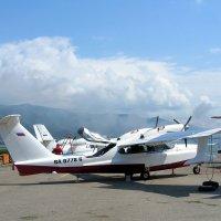 Самолёт-амфибия ЛА-8 :: Геннадий Храмцов