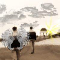 Твой ангел-хранитель рядом... :: NюRа;-) Ковылина