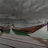 Таиланд...утро в заповеднике Као Сок на восхитительном озере Чиолан... :: Александр Вивчарик
