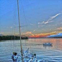 когда спущены паруса :: liudmila drake