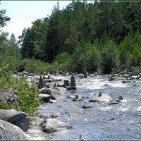 Река Кынгарга с оболами. :: Любовь Чунарёва