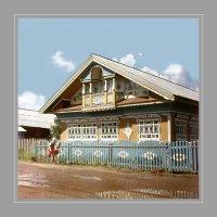 Домик в Морозовице :: Валерий Талашов