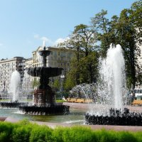 Фонтан на Пушкинской площади :: Елена Каталина