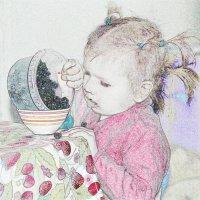 Девочка с ежевикой :: Арсений Корицкий
