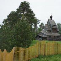 Юксовичи (Родионово). Георгиевская церковь, 1496 г. :: Елена Павлова (Смолова)