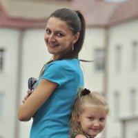 Ира и Ксюшенька :: Алеся Пушнякова