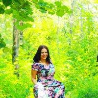в лесу :: Татьяна Киселева