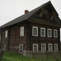 Вепсский  дом :: Елена Павлова (Смолова)