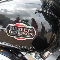 Harley Davidson с отражениями :: Вера Моисеева