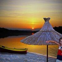 Закат на Дону :: Лариса Коломиец
