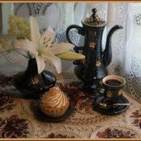кофе с пироженым :: Татьяна