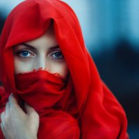 red cloth and blue eyes :: Георгий Чернядьев