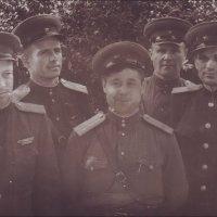 Офицеры. 1953 год :: Нина Корешкова