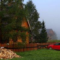 Симпатичный домик в деревне. :: Пётр Сесекин