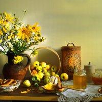 Пахет яблоком и мёдом... :: Валентина Колова