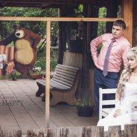 Маша и медведь...то есть...и Артем )) :: Мария Дергунова
