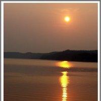 Закат на Каме у Чёрного озера :: muh5257