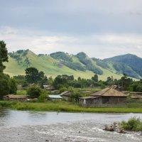 Акварельная деревня :: Ульяна Сафронова