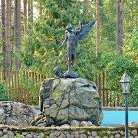 По дороге к Валааму - подворье Коневского монастыря :: Олег Попков