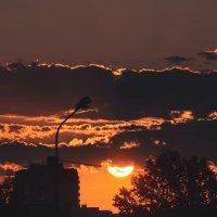Рассвет в Новосибирске :: Денис Казаков