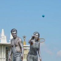 Ожившие статуи. :: Ольга