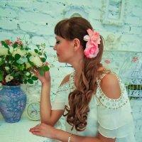 Какая вкусная герань)))))) :: Юлия Астратенко