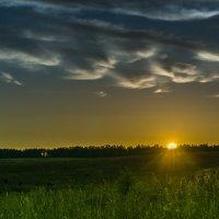 Закат в деревне. :: Игорь Кизюн