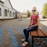 Девочка на арбате :: Anastasiya Shvezcova