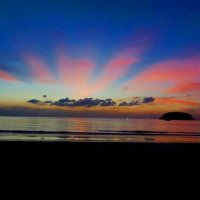 андаманское море-закат :: наталья зарецкая