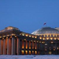 нгатоиб вечер зима флаг :: Наталья Золотых-Сибирская