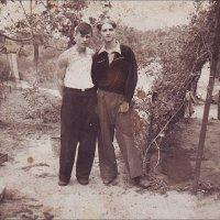 Вознесеновские женихи. 1948 г. :: Нина Корешкова