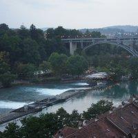 Берн. Мост Корнхаузбрюкке, построен в 1895 году :: Елена Павлова (Смолова)