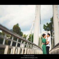 Пара на мосту :: Сергей Селевич