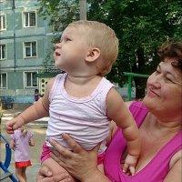 Смотри, смотри - шарик полетел! :: Нина Корешкова