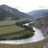 Река Чуя. :: Олег Афанасьевич Сергеев