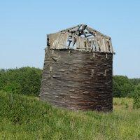 Старинный амбар из дранки :: Светлана Лысенко