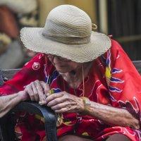Записочка или сквозь века- «из серии золотой возраст-бабушки бабульки...» :: Shmual Hava Retro