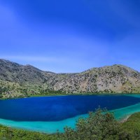 греция, крит.озеро курнас :: юрий макаров