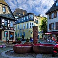 Маленький, уютный городок на Рейне :: Лидия Цапко