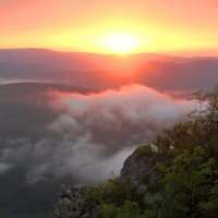 Закат в горах :: Сергей Карачин