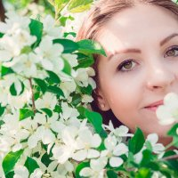 В саду :: Мария Прусакова