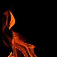 ...танец огня... :: Андрей Гр