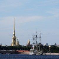 Вид с Литейного моста. :: Владимир Гилясев