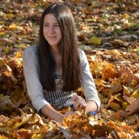 Среди желтых листьев... :: Raisa Ivanova