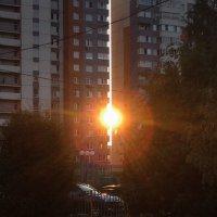 Солнце застряло... :: Caba Nova