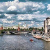 Прогулки по Москве реке :: Nika Dmitrieva