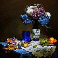 Парад цветов. Гортензия цветёт... :: Валентина Колова