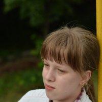Портрет на качелях :: Александр Андрианов