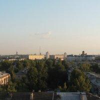 Вид с крыши. :: Аня