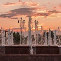Вечерние фонтаны :: Ярослав Афанасьев